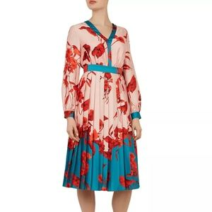 Ted Baker Karolyn Fantasia-Print Dress